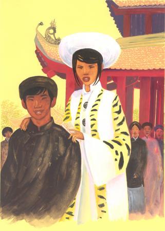 contes du vietnam, images de Bruno Pilorget