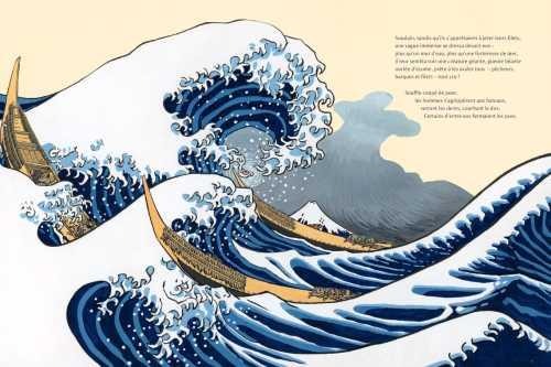 La grande vague dépose l'enfant de la mer sur un bateau.jpg